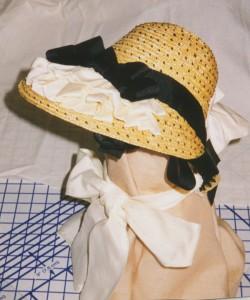 1868 reproduction bonnet