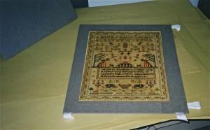 sampler mat