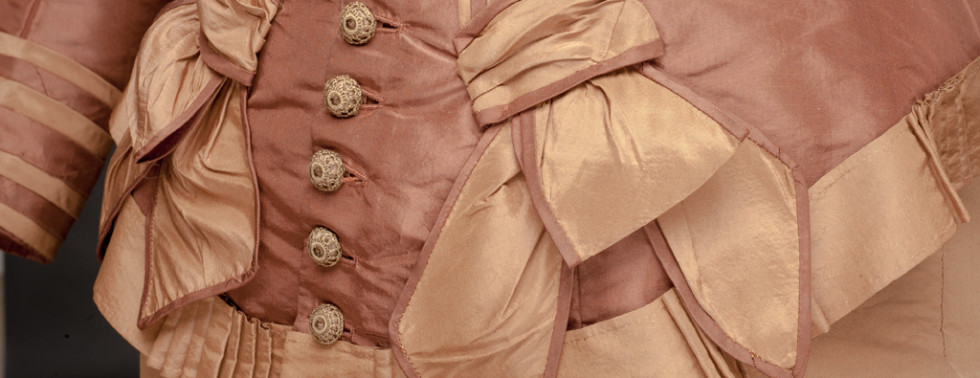 Exhibition Highlight:                        Embellishments in Victorian Dress, May 13-August 27, 2017