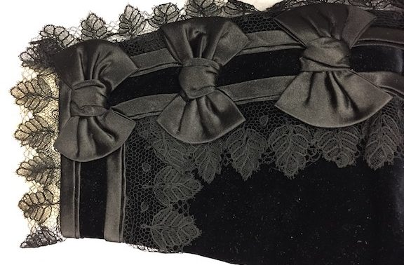 Recent Exhibition Highlight:                        Embellishments in Victorian Dress, May 13-August 27, 2017